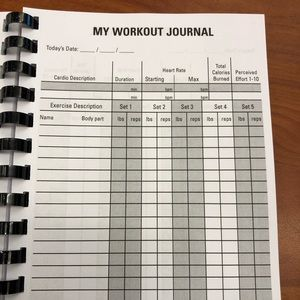 Other - Workout log booklets